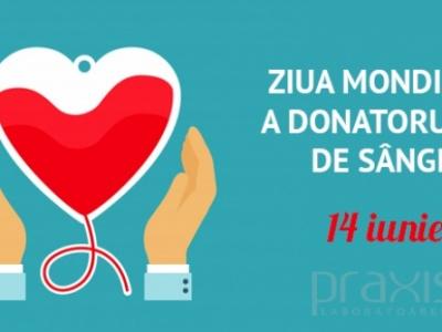 Donarea de sânge poate salva vieți
